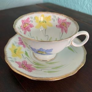 Antique Hand-painted Teacup